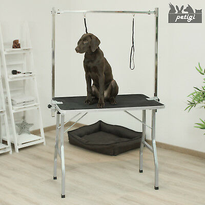 Table De Toilettage Cisaillement Table Animal Chien comprenant 2 boucle Petigi