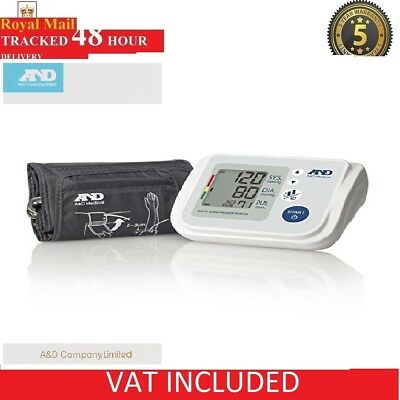 A&D Medical Family Blood Pressure Monitor UA767F