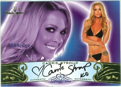 2010 Benchwarmer Auto #11A: Carrie Stroup - Signature Series Autograph