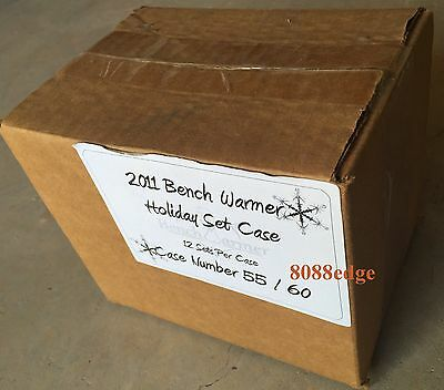 2011 Benchwarmer Holiday Case(12 Factory Box Set) #/60 Total 260+ Autograph/auto