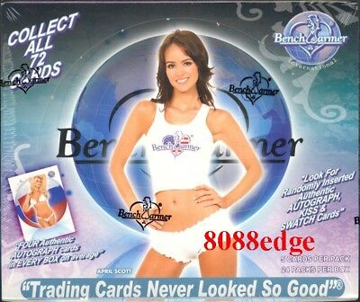 2007 Benchwarmer International Sealed Box - Bikini/kiss/autograph Auto