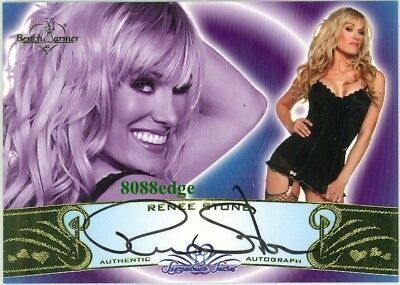 2010 Benchwarmer Ss Autograph Auto: Renee Stone #57A Signature Series Gold
