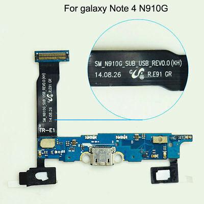 Genuine Samsung Galaxy Note 4 SM-N910G Charging Port Charger Dock Flex Cable