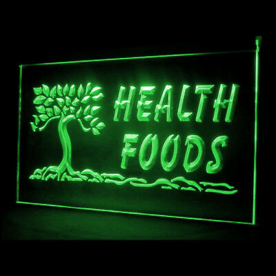 110089 Health Foods Fresh Vegetable Tomato Lifestyle Products LED Light Sign