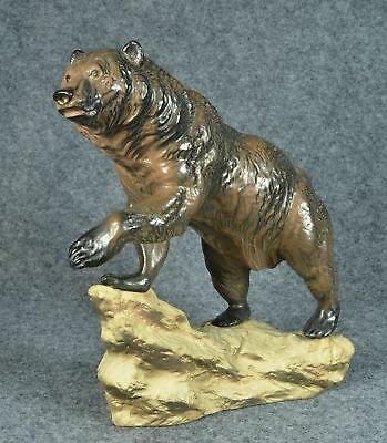 Hagen-Renaker DW Grizzly Bear on rock