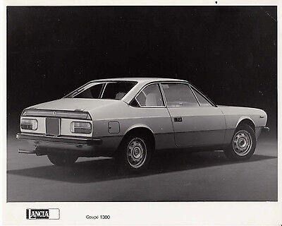 Lancia Coupe 1300 Period Photograph.