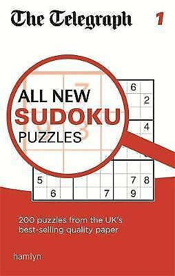 The Telegraph All New Sudoku Puzzles 1 (The Telegraph Puzzle Books) by THE TELEG