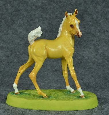 Horsing Around of England Horse Foal Biendacado Bone China