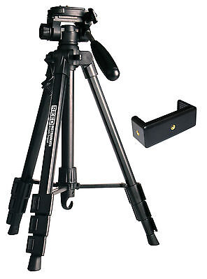 """REED R1500 Lightweight Tripod with Instrument Adapter, Expandable to 56"""""""