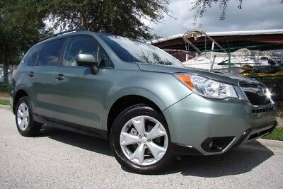 2015 Subaru Forester  2015 SUBARU FORESTER 2.5i LIMITED ONLY 10,000 MILES! CLEAN FL. TITLE! 1 OWNER!