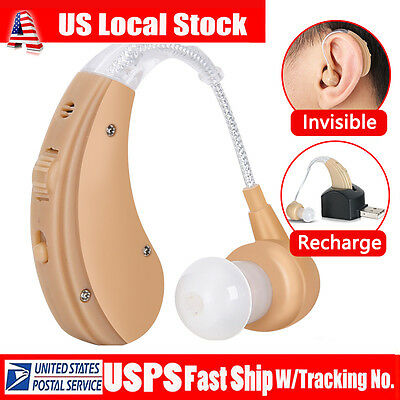 Rechargeable Digital Hearing Aids Aid digital The Ear USB Sound Amplifier USA US