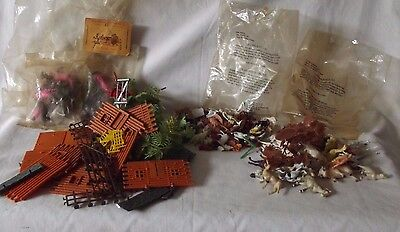 Large Lot Vintage Hong Kong Animals & People - for Farm / Train Set + Mexico etc