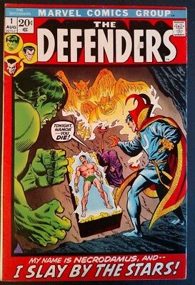 The Defenders #1 (1972) Netflix Series!  Key!  6.5 Fn+ ***wow! Reduced Price***