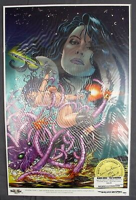 """Black Rose The Leviathan Gold Signature Edition Mike Deodato Stacy Rosman 11x17"""""""