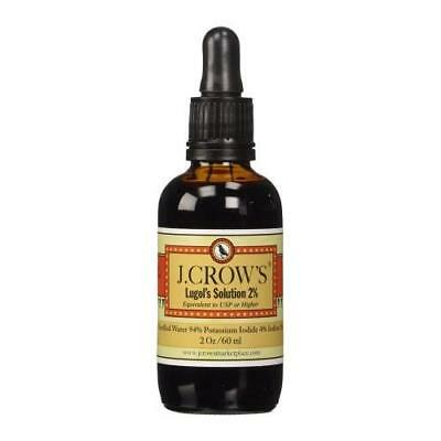 J.Crow's Lugol's Iodine Solution, 2 oz