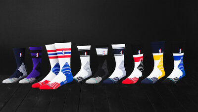 NEW Stance Basketball NBA Logo Socks Various Design and Sizes Lebron KD Kyrie SC