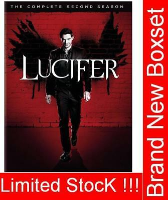 Lucifer Season 2 DVD Complete Second 2nd Series Brand New & Sealed Box Set