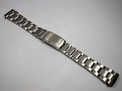 New Seiko Stainless Steel Bracelet For 6139-6002 Pogue Chronograph, Br07