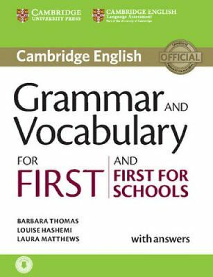 Grammar and Vocabulary for First and First for Schools Book wit... 9781107481060