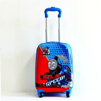 New Kid Wheeled Rolling Suitcase Travel Bag Luggage Trolley ( 4-Wheel Speed! )