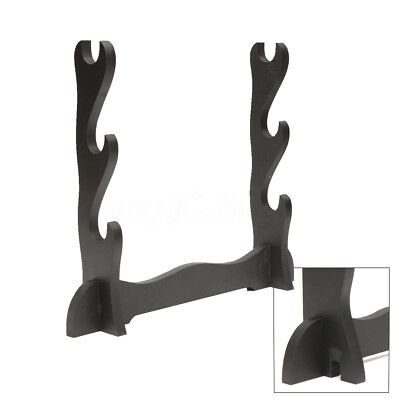3 Layer Tier Katana Samurai Sword Stand Holder Wall Mount Bracket Hanger Display
