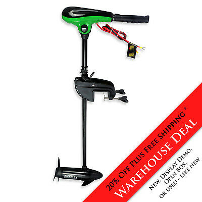 Seamax 62Lbs Trust 12V Electric Trolling Motor - Warheouse Deal 20% Off