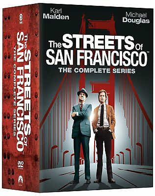New The Streets of San Francisco: The Complete Series 1-5 (DVD, 2017, 32-Discs)