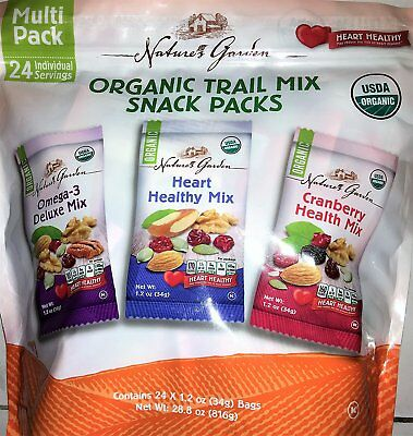 Nature's Garden Healthy Trail Mix Snack Packs (24 Count)