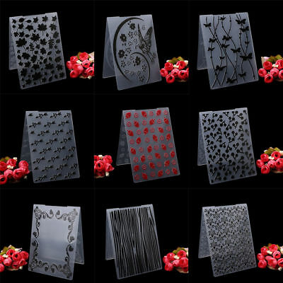 Plastic Embossing Folder Template DIY Scrapbooking Paper Cards Decor Handcrafts