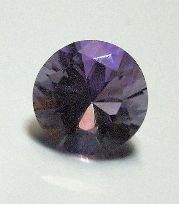Purple amethyst natural round shaped gemstone..3.3 Carat.