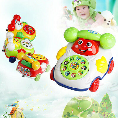 Baby Kids Toys Music Cartoon Phone Educational Developmental Kids Toy Gift