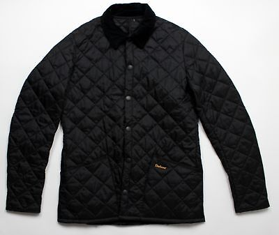 BRAND NEW - Barbour Heritage Liddesdale Quilt Black -XS- MSRP $199