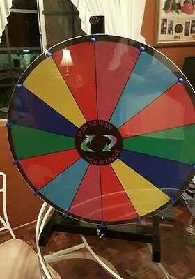 24 inch Spin to Win Dry Erase prize wheel