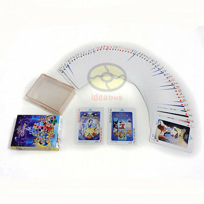 Collecting Playing card/Poker Deck 54 cards Disney classic animated MOVIE POSTER
