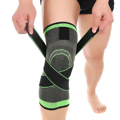 1PC 3D Weaving Pressurization Cycling Knee Support Sports Pad Durable Breathable
