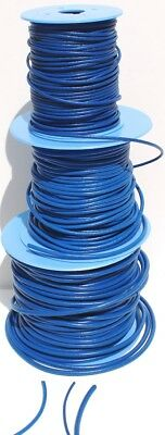 Blue Spanish Leather Cord/Thong  2mm, 3mm, 4mm, various lengths