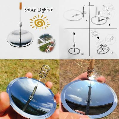 Solar Cigarettes Lighter Windproof Cigarette Tobacco Camping Lighters As a Gift