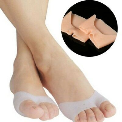 1 paire silicone pieds Orteil Hallux Doigt Protection Soin de anti-wear