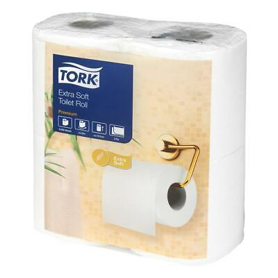 Tork Conventional Toilet Roll Extra Soft - Pack of 4 Rolls