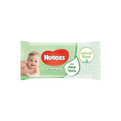 Huggies Natural Care Baby Wipes  - Pack of 56 Wipes