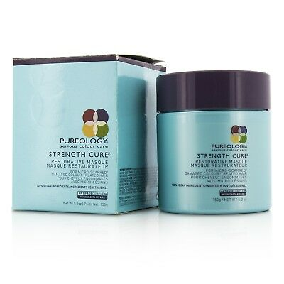 Strength Cure Restorative Masque MicroScarred Damaged ColorTreated
