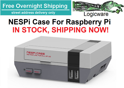 NESPi Case for Raspberry Pi 3 - Retropie Nintendo NES SNES N64 Sega PS1