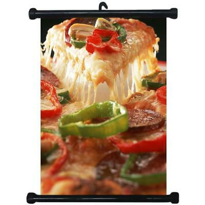 sp217116 Pizza Wall Scroll Poster For Shop Decor Display