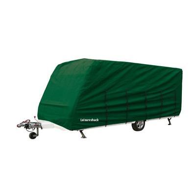 Breathable Caravan Cover 23 To 25 Foot Green, Universal For Elddis 225 cm Wide