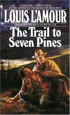 Trail to Seven Pines by L'Amour, Louis Paperback Book The Cheap Fast Free Post