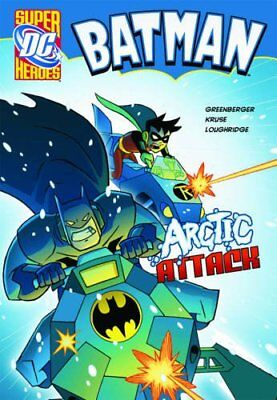 Arctic Attack (Batman) by Greenberger, Robert Paperback Book The Cheap Fast Free