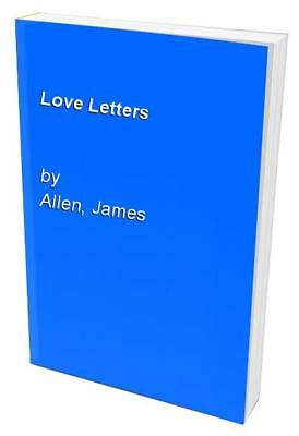 Love Letters by Allen, James Paperback Book The Cheap Fast Free Post