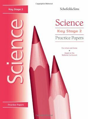 Key Stage 2 Science Practice Papers: Years 3-6 by Penny Johnson Paperback Book