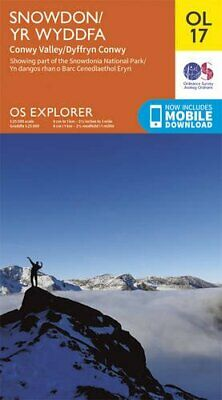 OS Explorer OL17 Snowdon & Conwy Valley (OS Explorer Map) by Ordnance Survey The