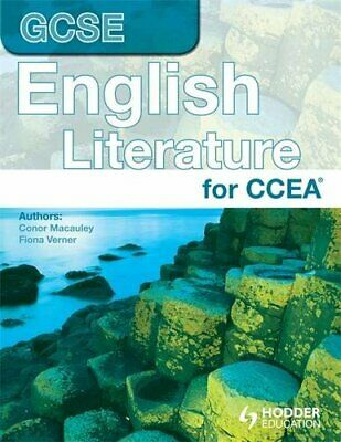 CCEA GCSE in English Literature by Verner, Fiona Paperback Book The Cheap Fast